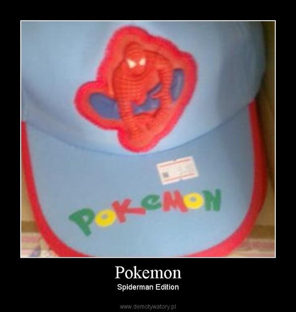 Pokemon – Spiderman Edition