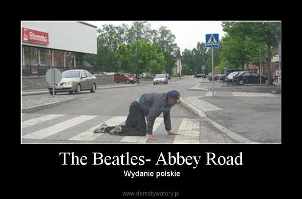 The Beatles- Abbey Road –  Wydanie polskie
