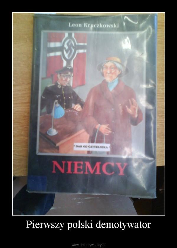 Pierwszy polski demotywator –