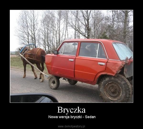 Bryczka –  Nowa wersja bryczki - Sedan