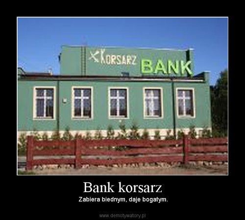 Bank korsarz