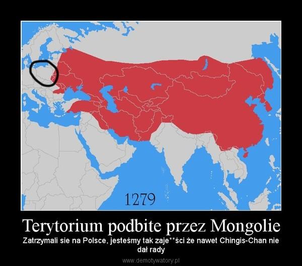 Terytorium podbite przez Mongolie – Zatrzymali sie na Polsce, jesteśmy tak zaje**ści że nawet Chingis-Chan niedał rady