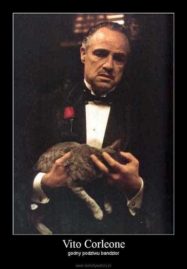 Vito Corleone – godny podziwu bandzior