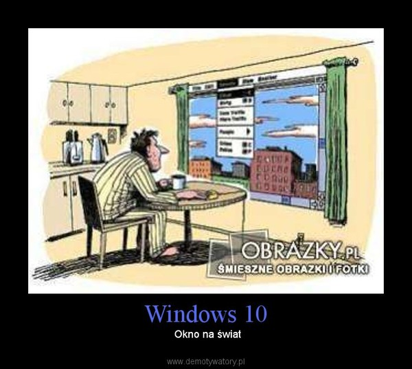 Windows 10 – Okno na świat