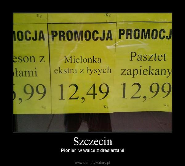 Szczecin – Pionier  w walce z dresiarzami