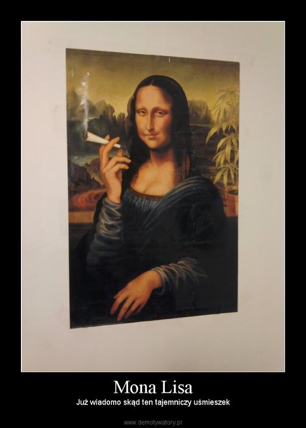Mona Lisa – Już wiadomo skąd ten tajemniczy uśmieszek