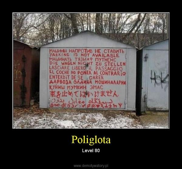Poliglota – Level 80