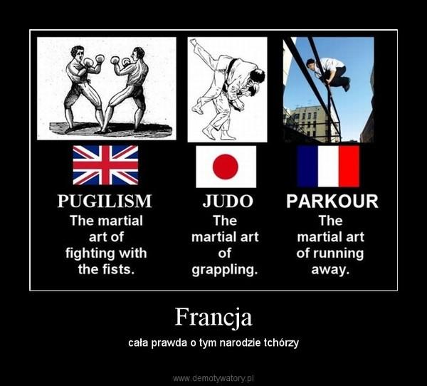 Francja – cała prawda o tym narodzie tchórzy