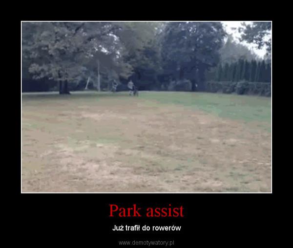 Park assist – Już trafił do rowerów