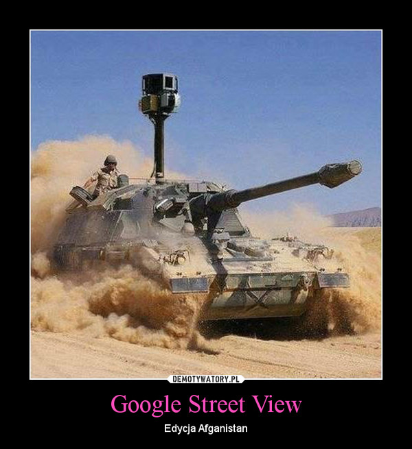 Google Street View – Edycja Afganistan