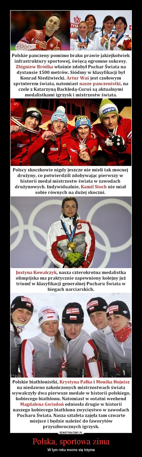 Polska, sportowa zima – W tym roku mocno się trzyma