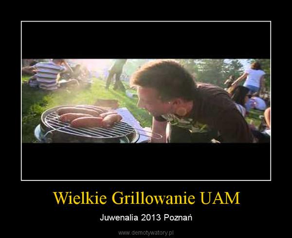 Wielkie Grillowanie UAM – Juwenalia 2013 Poznań