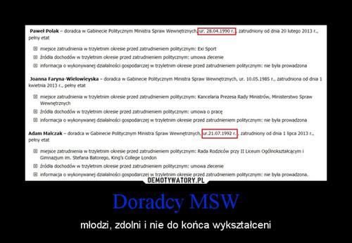 Doradcy MSW