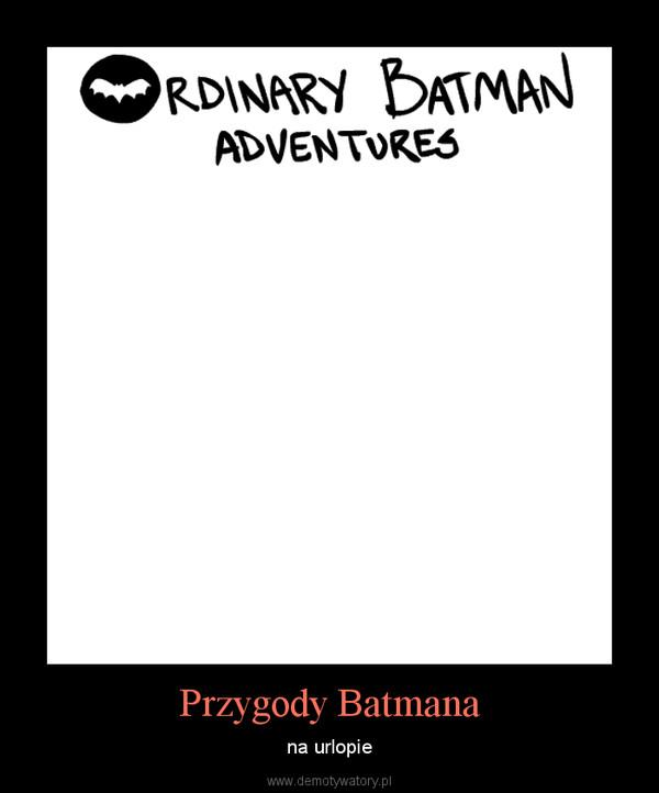 Przygody Batmana – na urlopie