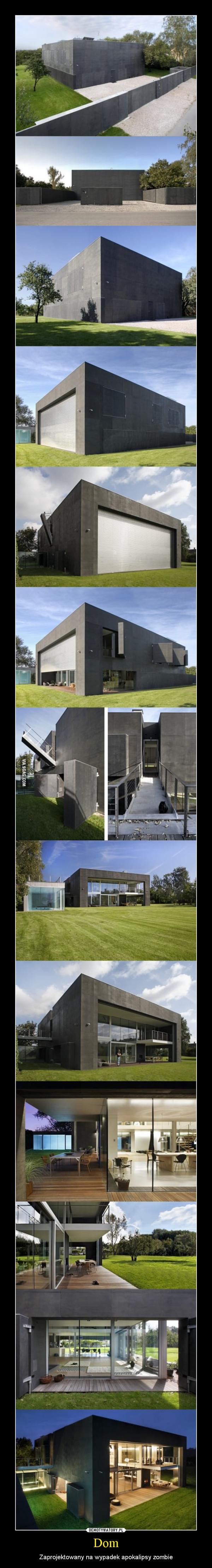 Dom – Zaprojektowany na wypadek apokalipsy zombie