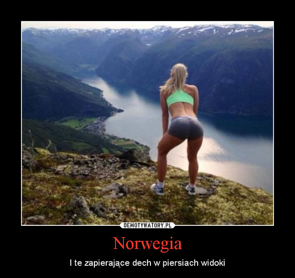 Norwegia – I te zapierające dech w piersiach widoki