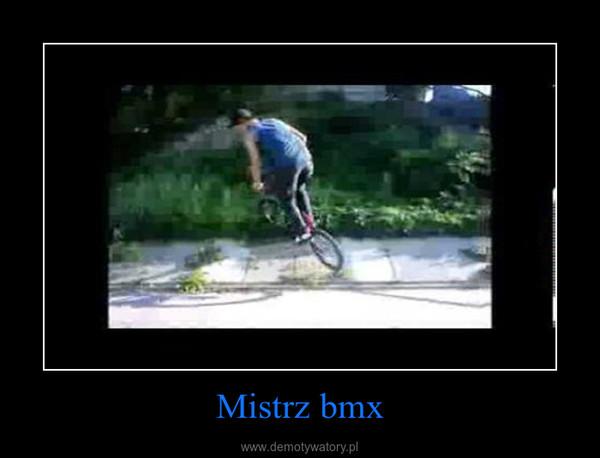 Mistrz bmx –