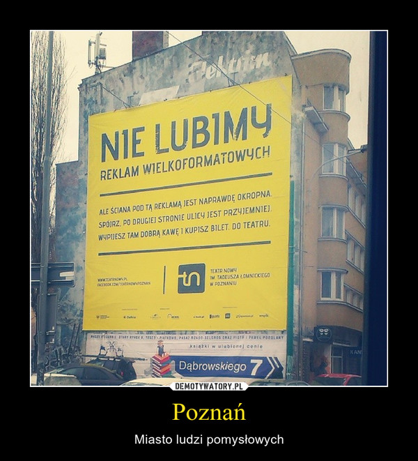 Poznań – Miasto ludzi pomysłowych