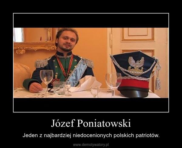 Józef Poniatowski – Jeden z najbardziej niedocenionych polskich patriotów.