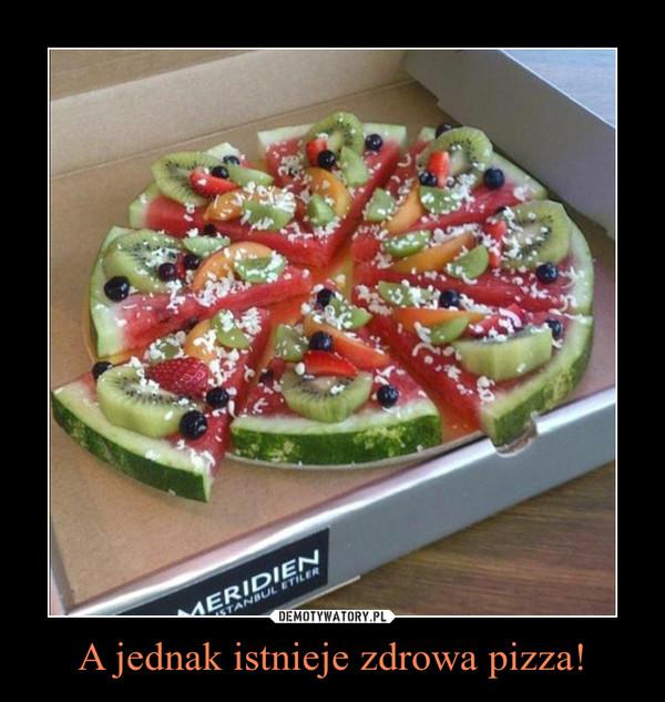 A jednak istnieje zdrowa pizza! –