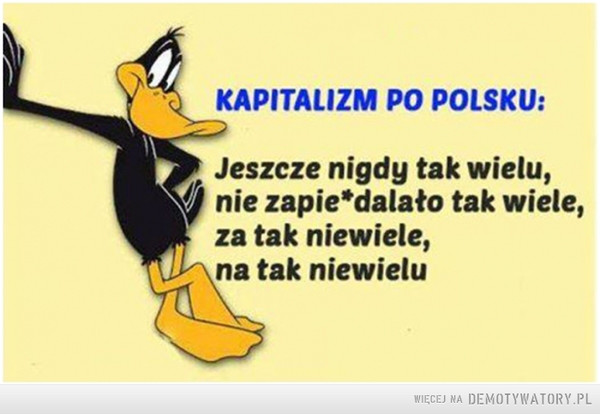 Kapitalizm po polsku –