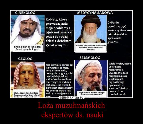 Loża muzułmańskich ekspertów ds. nauki –
