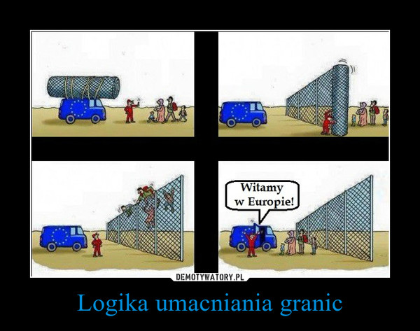 Logika umacniania granic –
