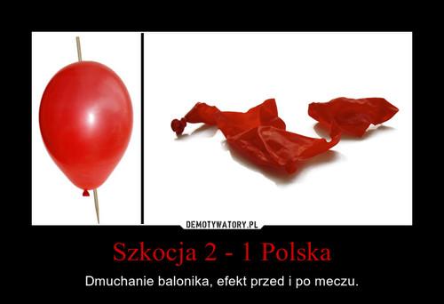 Szkocja 2 - 1 Polska