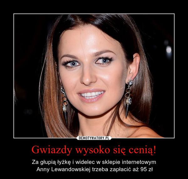 Gwiazdy wysoko się cenią! – Za głupią łyżkę i widelec w sklepie internetowym Anny Lewandowskiej trzeba zapłacić aż 95 zł