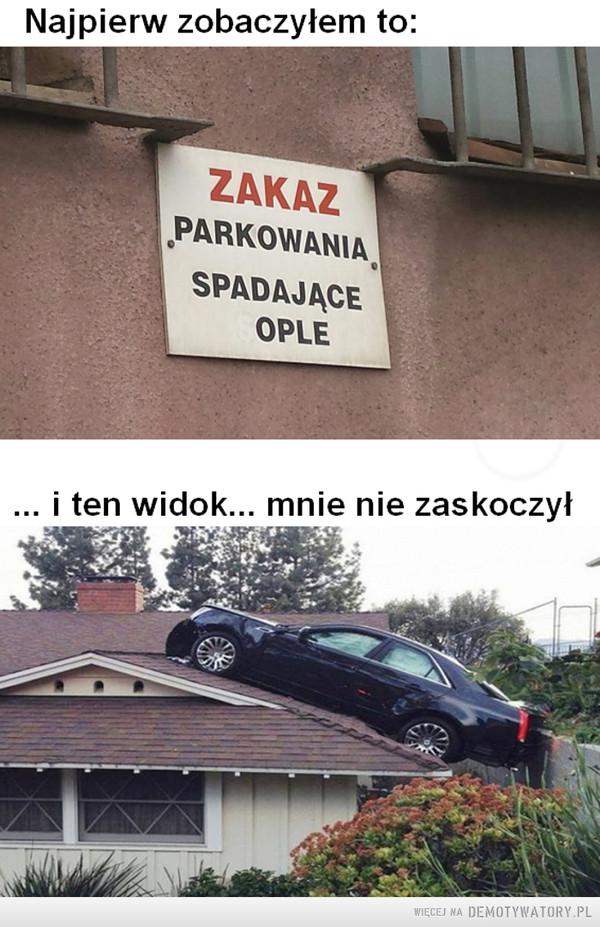 Spadanie i parkowanie –