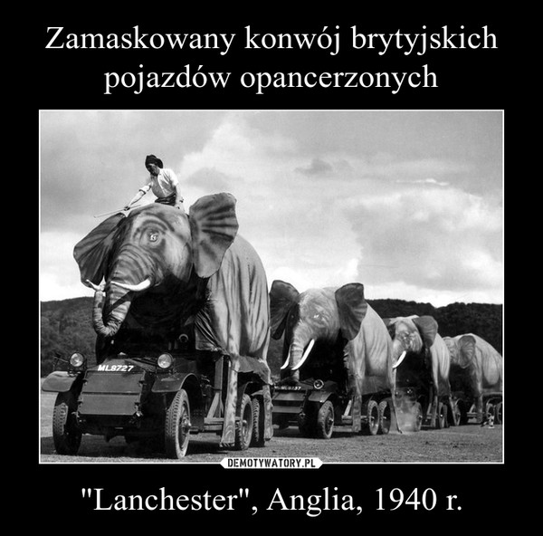 """Lanchester"", Anglia, 1940 r. –"