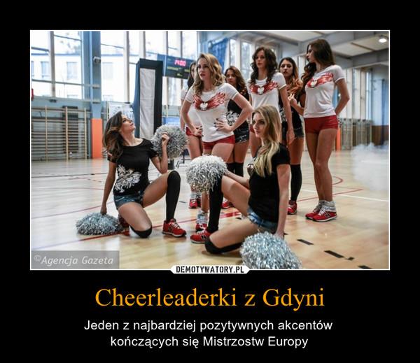 Cheerleaderki z Gdyni – Jeden z najbardziej pozytywnych akcentów kończących się Mistrzostw Europy