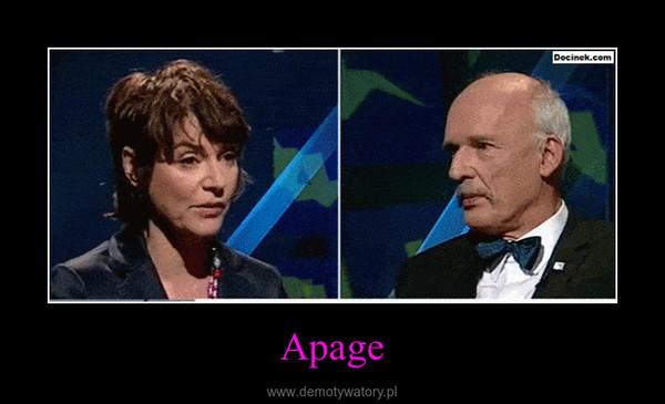 Apage –