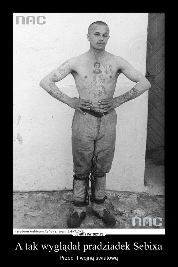 A tak wyglądał pradziadek Sebixa – Przed II wojną światową