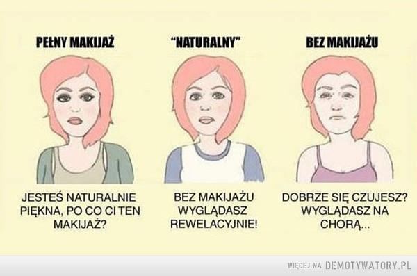 Kobiecy makijaż –
