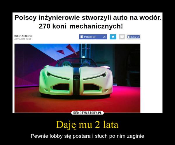 Daję mu 2 lata – Pewnie lobby się postara i słuch po nim zaginie Polscy inżynierowie stworzyli auto na wodór. 270 koni mechanicznych!