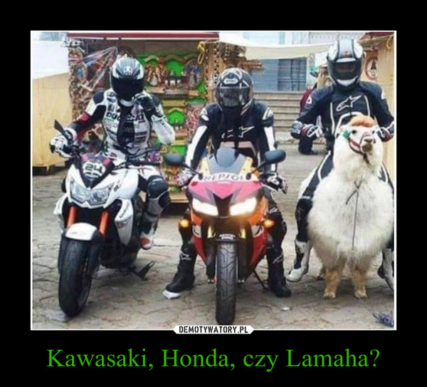 Kawasaki, Honda, czy Lamaha? –