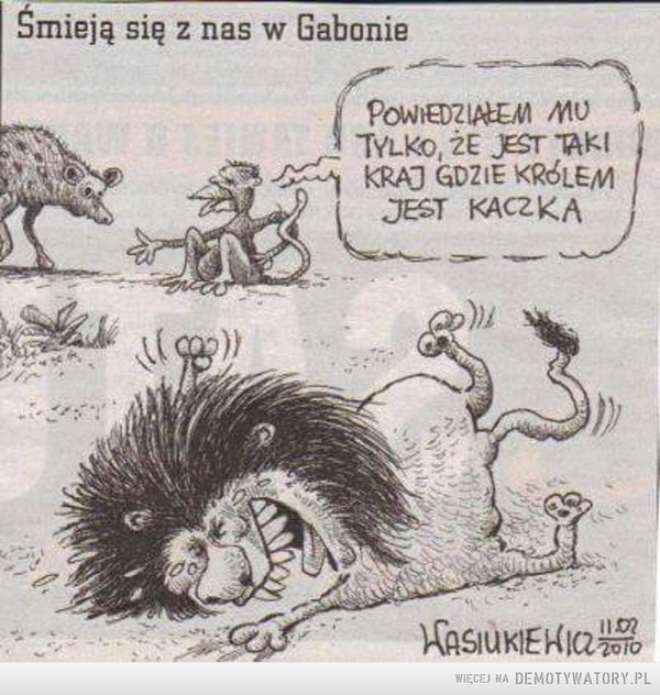 Gabon się śmieje –