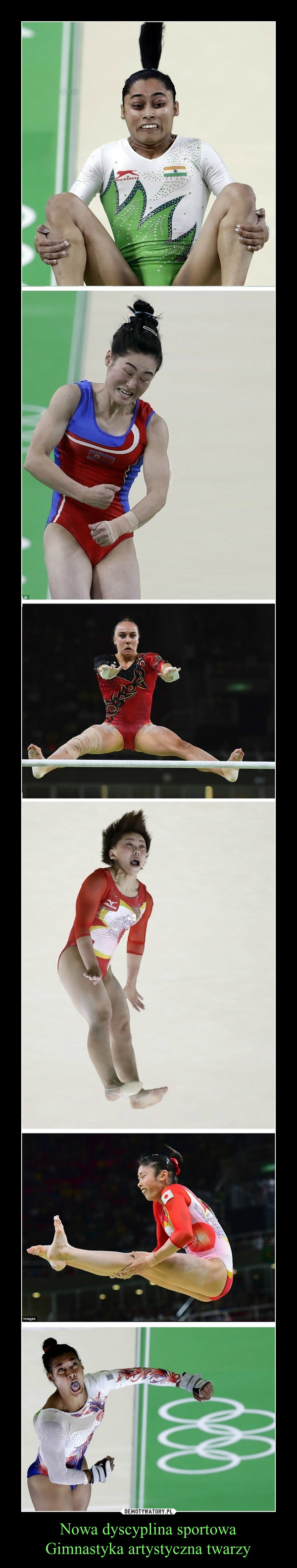 Nowa dyscyplina sportowaGimnastyka artystyczna twarzy –