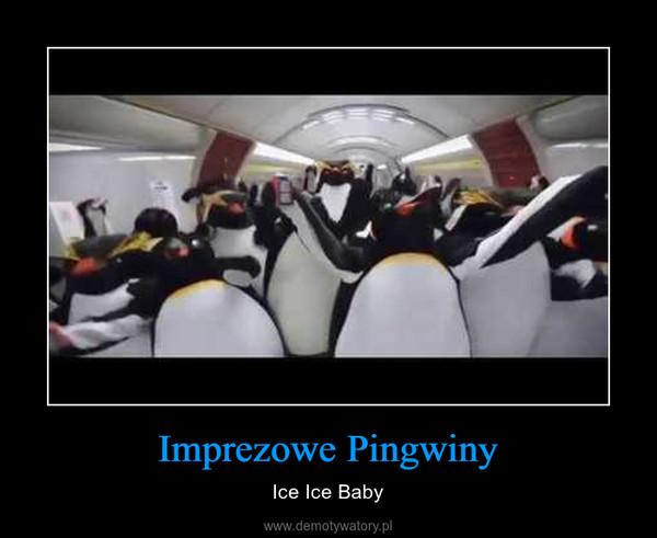 Imprezowe Pingwiny – Ice Ice Baby