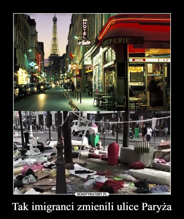 Tak imigranci zmienili ulice Paryża –