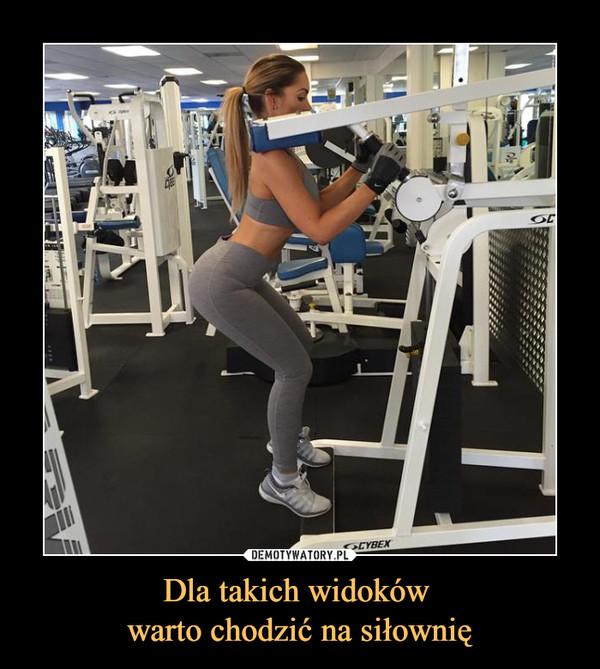 Dla takich widoków warto chodzić na siłownię –