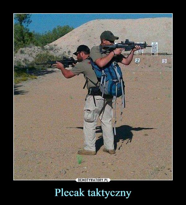 Plecak taktyczny –