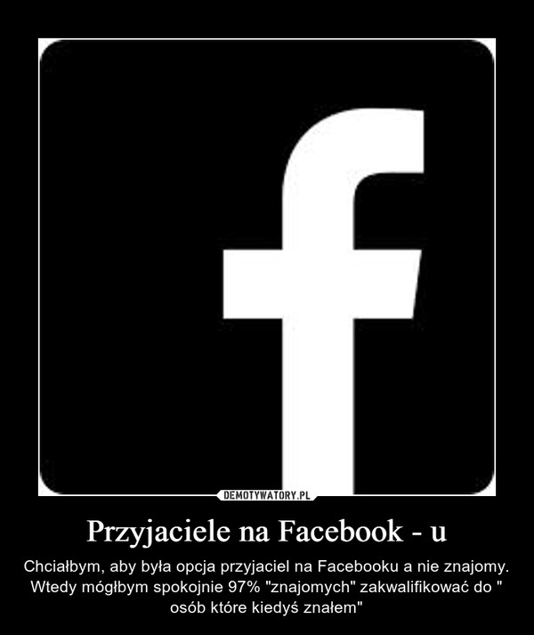 Przyjaciele na Facebook - u