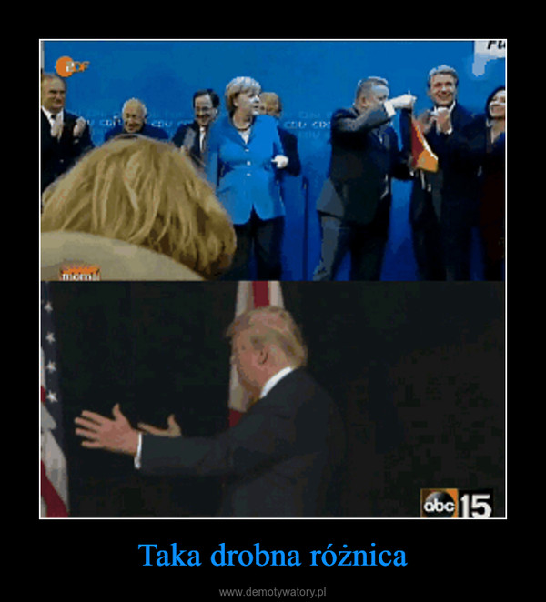 Taka drobna różnica –