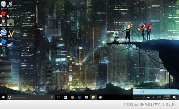 Smutny los Internet Explorera –