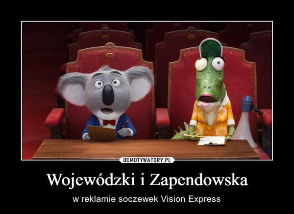 Wojewódzki i Zapendowska – w reklamie soczewek Vision Express