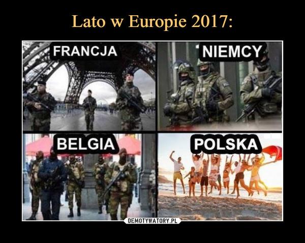 –  Francja Niemcy Belgia Polska
