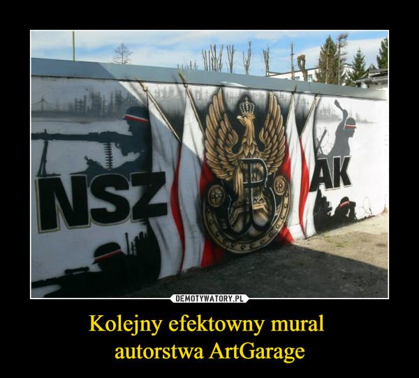Kolejny efektowny mural autorstwa ArtGarage –