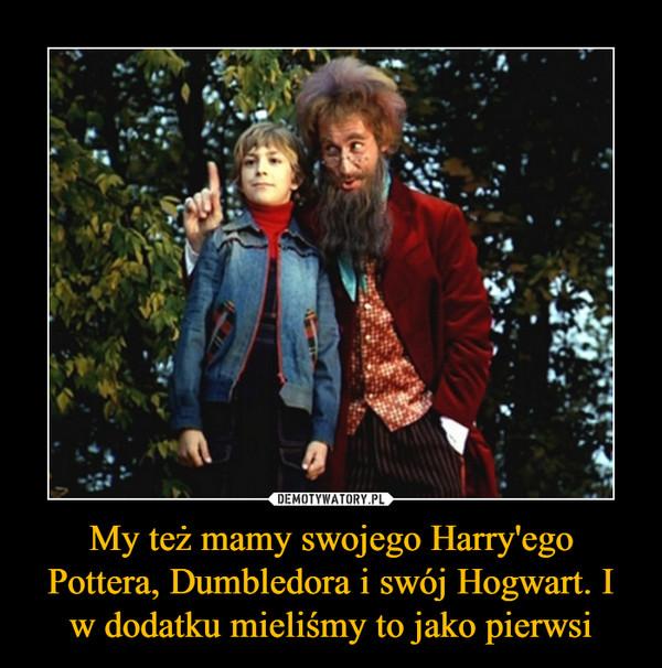 My też mamy swojego Harry'ego Pottera, Dumbledora i swój Hogwart. I w dodatku mieliśmy to jako pierwsi –